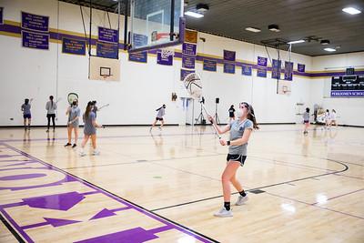 Girls Lacrosse Practice