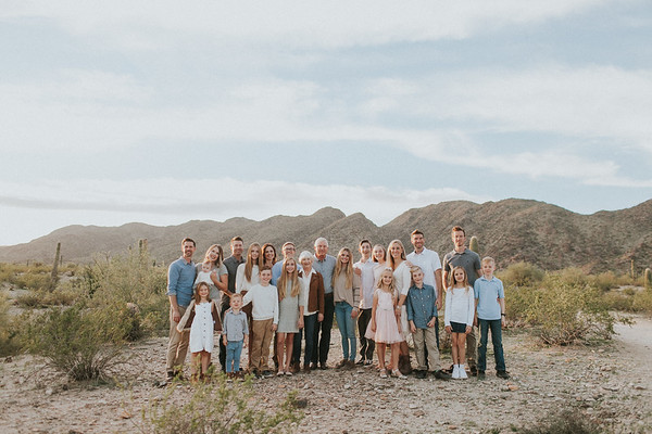 The Hoefers & Family | Phoenix Desert Lifestyle Session