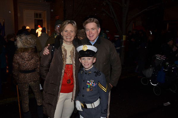 Dec 8, 2013-Fund for Park Avenue's McLaughlin shopping and Tree Lighting at Brick Church