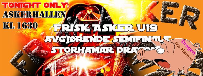 U19: Frisk Asker - Storhamar Dragons (120317)