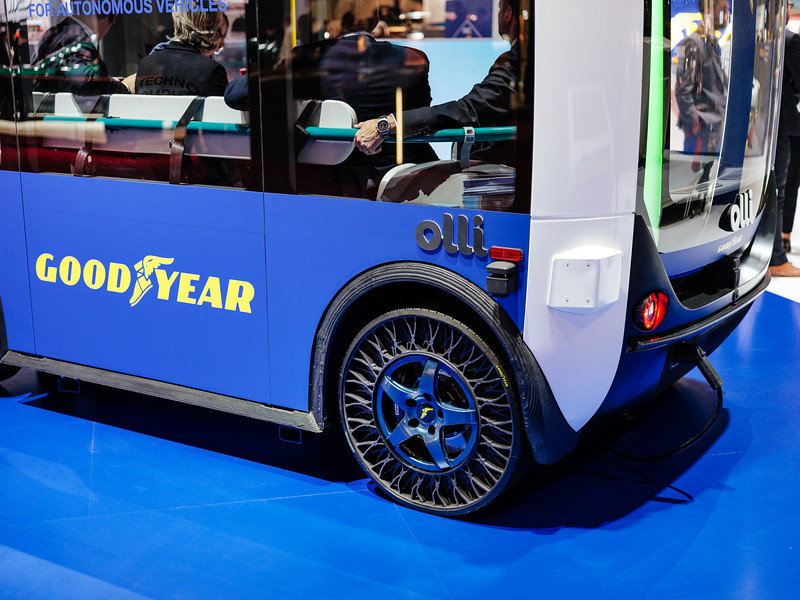 The Goodyear Olli vehicle - Samuel Zeller for the New York Times