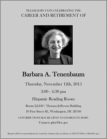 Barbara's Retirement Party