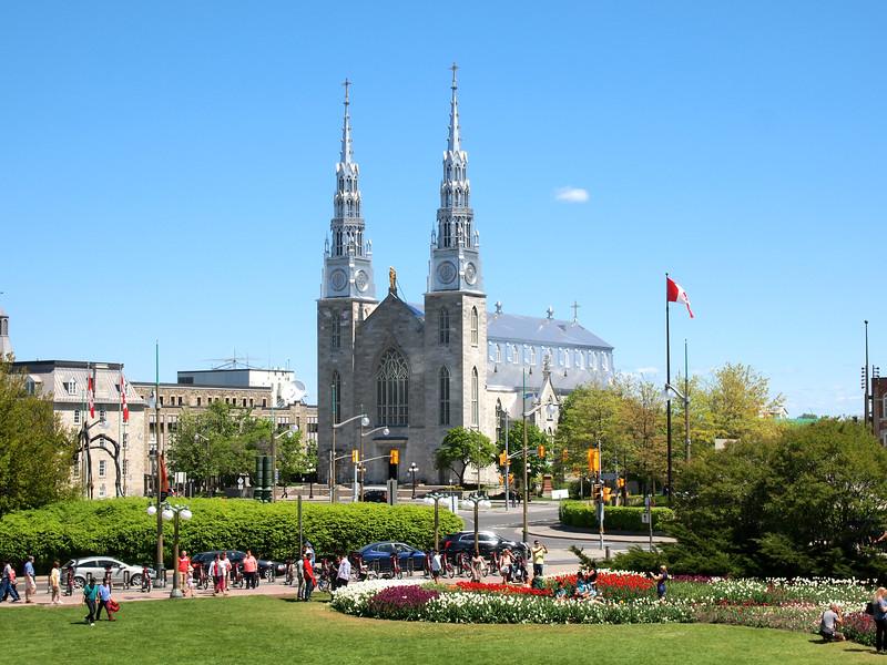 Notre-Dame Cathedral Basilica in Ottawa