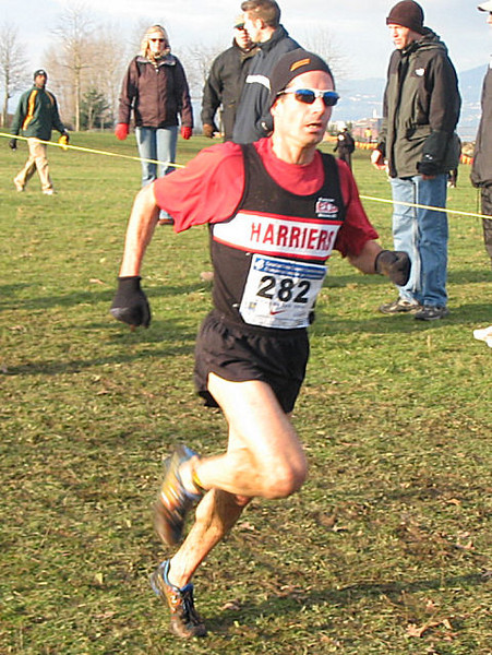 2005 Canadian XC Championships - Deacon