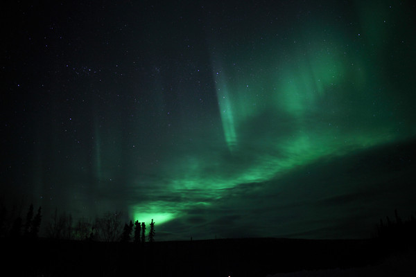 Aurora Time Lapse: Spring Equinox in Alaska - March 20-21, 2012