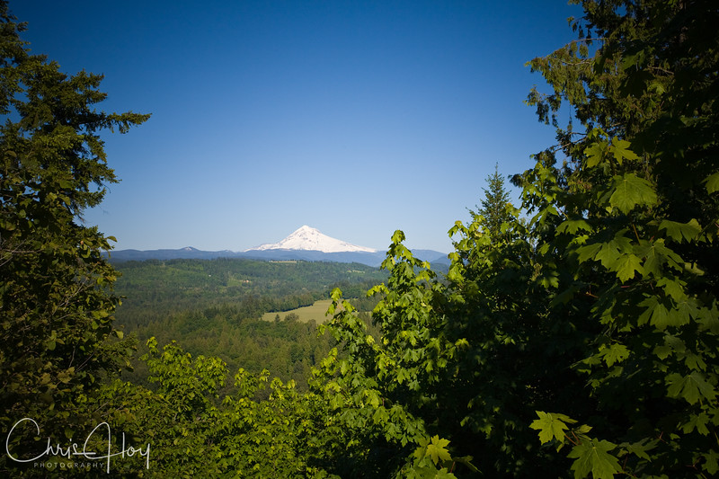 Mt. Hood, Oregon, as seen from Jonsrud Viewpoint