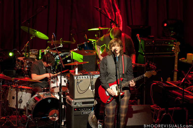 Melissa York, Amy Ray, and Greg Griffith perform on February 18, 2010 at Capitol Theatre in Clearwater, Florida