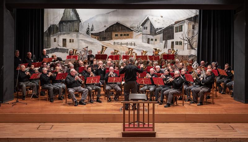 Ammergauerhaus Concert - Dr. McDavid conducting