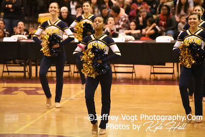 2/2/2019 Bethesda Chevy Chase HS at MCPS County Poms Championship Blair HS Division 2,  Photos by Jeffrey Vogt Photography with Kyle Hall