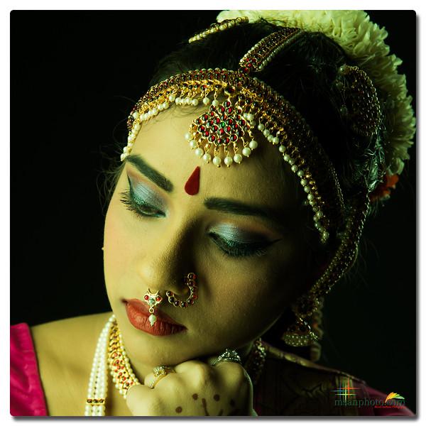 Shalini's Pre-Arangetram Portraits 2019