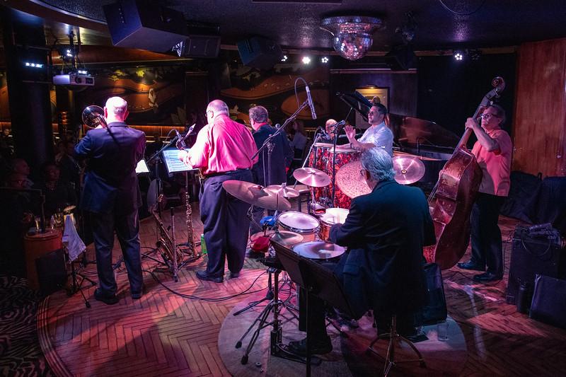 2019 March 22, LL7 Latin Jazz Band, Cliff Bell's Detroit: Joe Alcodray