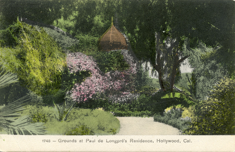 Grounds at Longpre Residence