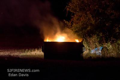 07-15-2012, Dumpster, Rosenhayn, Cumberland County, Bridgeton Ave.