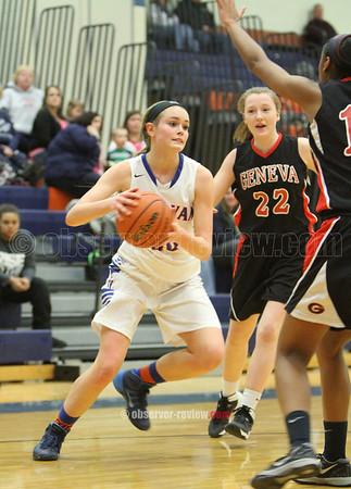 Penn Yan Girls Basketball 2-6-15