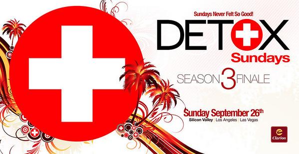 DETOX Season 2 Finale @ CLARION Hotel 9.26.10