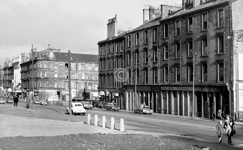 Gorbals St, east side, north of the railway bridge.    November 1973