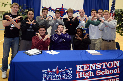 College Signing (2/4/2015)