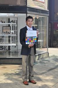 Newbury Street Model Shoot