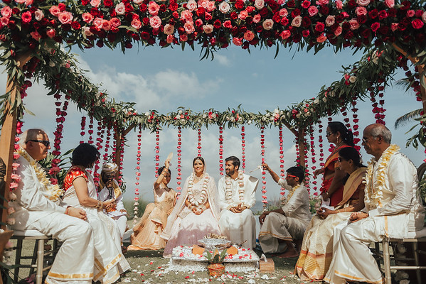 North and South Indian wedding