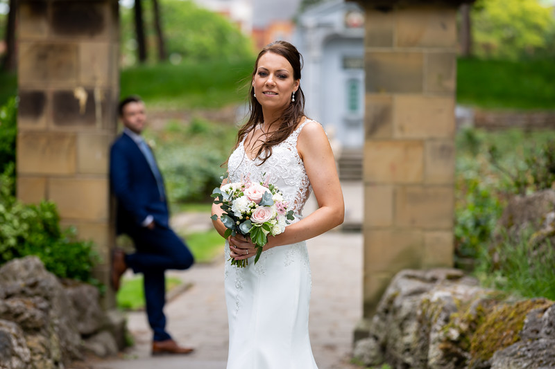 Sara and Tom at The Best Western Plus Glendower Hotel, St Annes