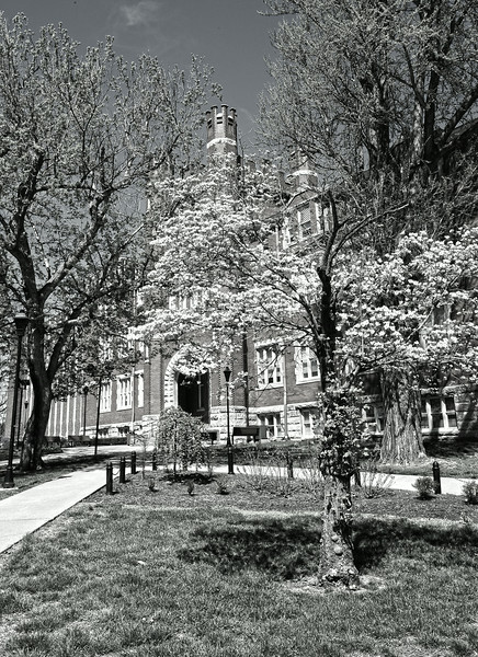 Old Main April 2014