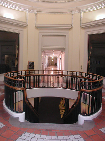 Rotunda as seen from the main south entry door in 2006
