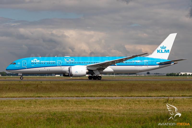 KLM / Boeing 787-9 / PH-BHF