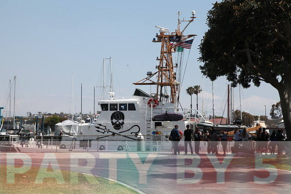 Sea Shepherd Comes to Marina Del Rey