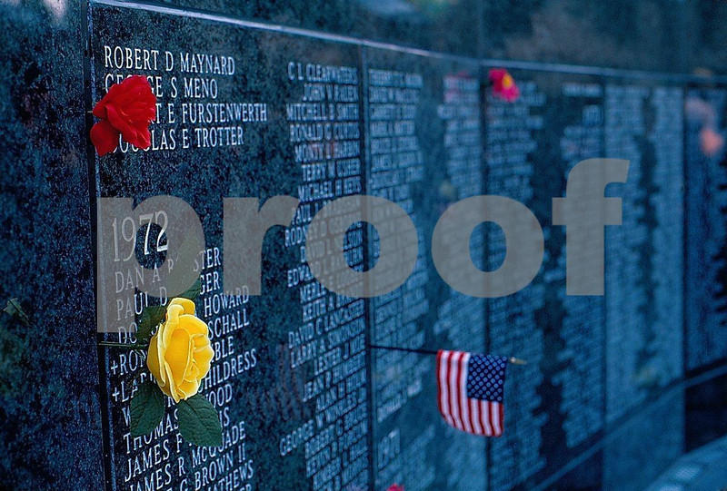 WA State Vietnam Memorial dedication on May 25, 1987, Olympia, WA.