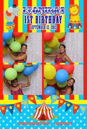 Leonida's 1st Birthday (Mini Open Air Photo Booth)