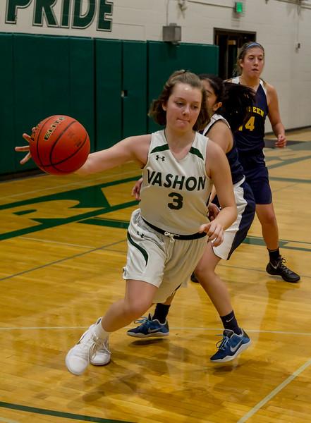 Set two: Vashon Island High School Girls JV Basketball v Aberdeen