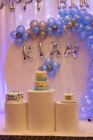 Kian's Birthday