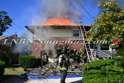 North Merrick F.D. House Fire 1715 Sutton Place 9-24-13
