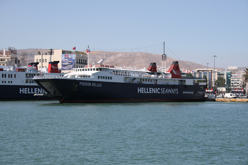 2009 - F/B POSEIDON HELLAS in Piraeus.