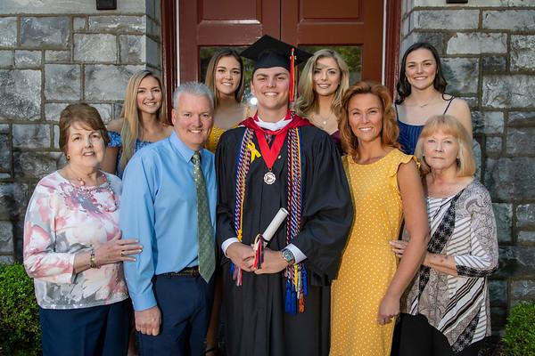 David's 2019 Graduation and Family Pics