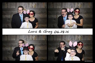 Lora & Greg 2015