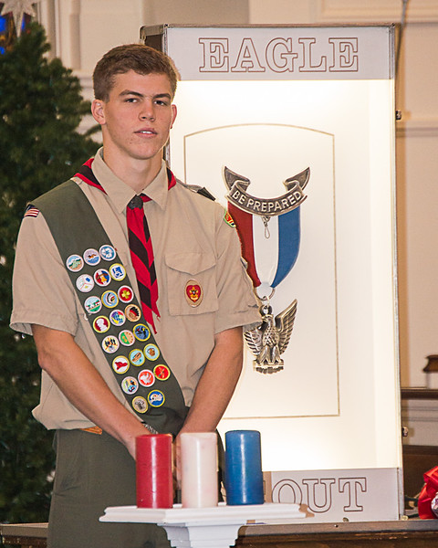 Dan's Eagle Scout Court of Honor