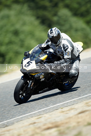 #5 - Black Yellow GSXR