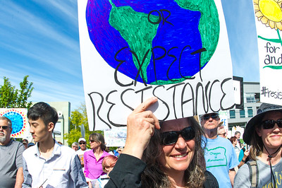 Climate March in Medford