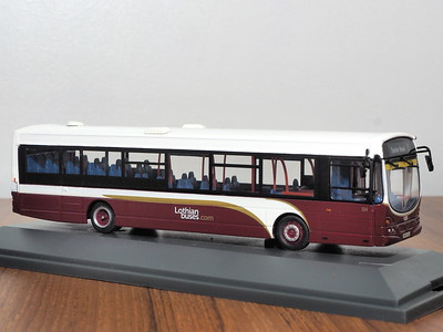 Corgi OOC OM46015A Lothian Buses Volvo B7RLE Eclipse route 1 to Easter Road