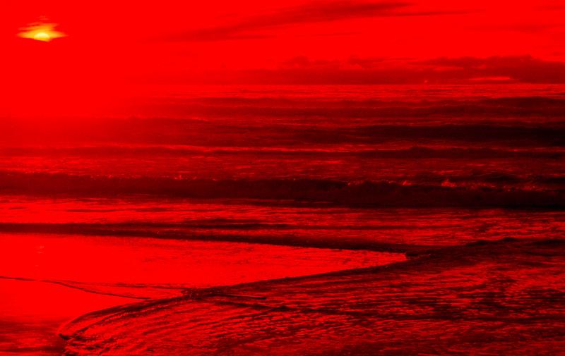 Sunset 1, San Gregorio State Beach, California, 1978