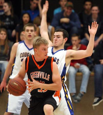 Boys Basketball vs. Greenville  2/26/2015