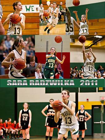 Wyoming Area Girls Basketball Poster