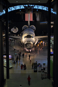 Steven F. Udvar-Hazy Center Discovery Display