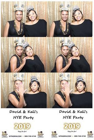 David & Kali's NYE Party