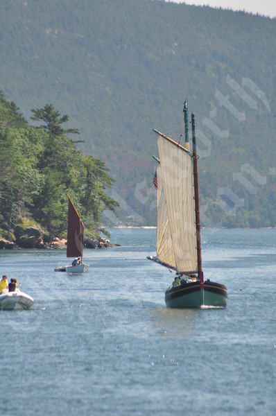 The Lewis H. Story visits MDI