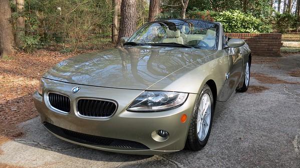 2005 BMW Z4 .  .  .
