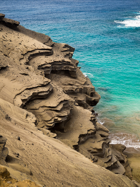 Papakolea (Green Sand) Beach and South Point