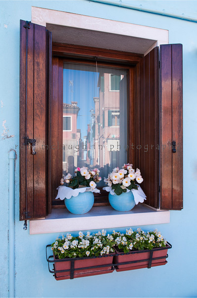 Blue Reflections , Burano , Veneto