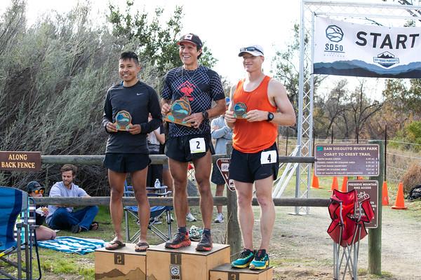 SD50 & Trail marathon awards